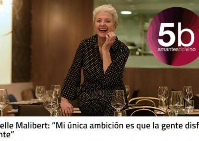 La historia de Emmanuelle Malibert en la gastronomía contada por 5Barricas