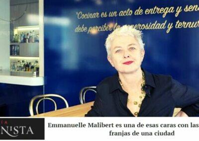 Atmosphère, Emmanuelle Malibert y el Botànic se llevan bien