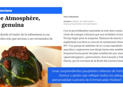 La Razón: Brasserie Atmosphère, empatía genuina